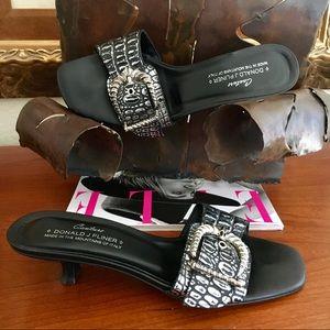 Donald J Pliner Couture Joss Sandal Wore2 $225 7.5
